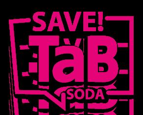 save tab soda